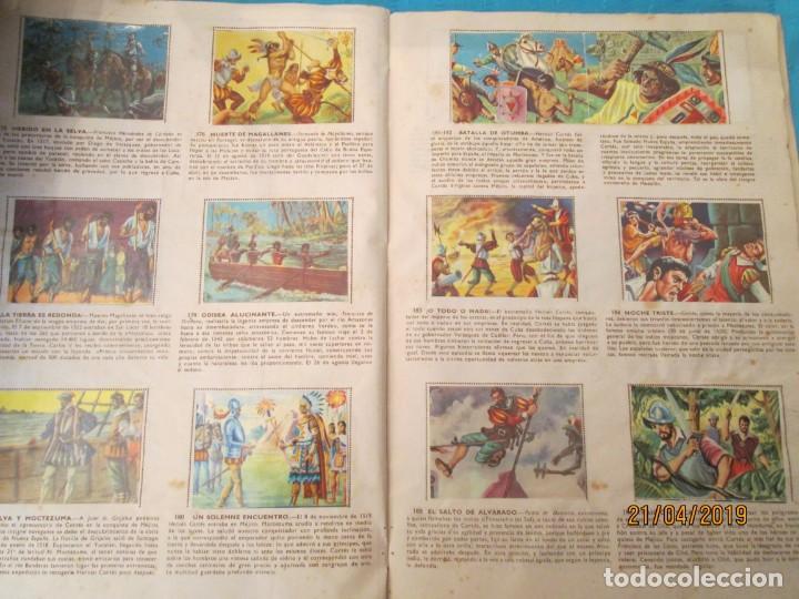Coleccionismo Álbum: HECHOS FAMOSOS DE LA HISTORIA DE ESPAÑA FHER - Foto 4 - 160709530