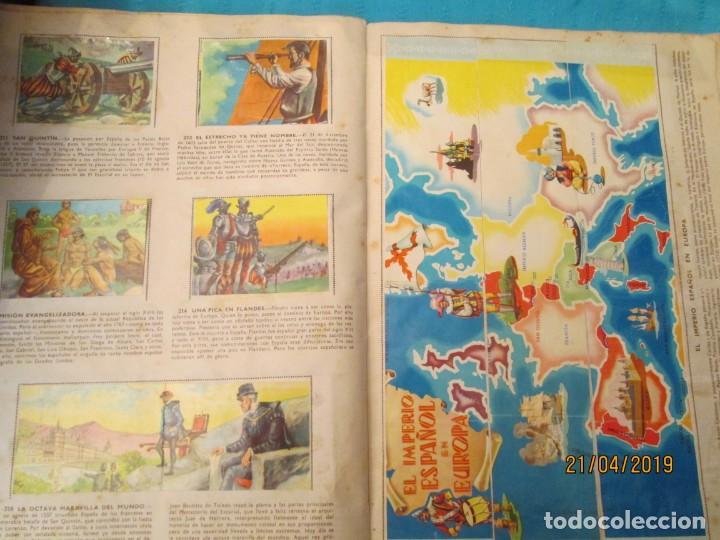Coleccionismo Álbum: HECHOS FAMOSOS DE LA HISTORIA DE ESPAÑA FHER - Foto 5 - 160709530