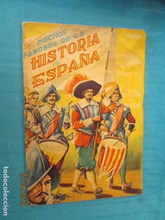 HECHOS FAMOSOS DE LA HISTORIA DE ESPAÑA FHER (Coleccionismo - Cromos y Álbumes - Álbumes Completos)