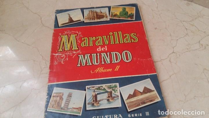 ALBUM COMPLETO MARAVILLAS DEL MUNDO 1956 BRUGUERA (Coleccionismo - Cromos y Álbumes - Álbumes Completos)