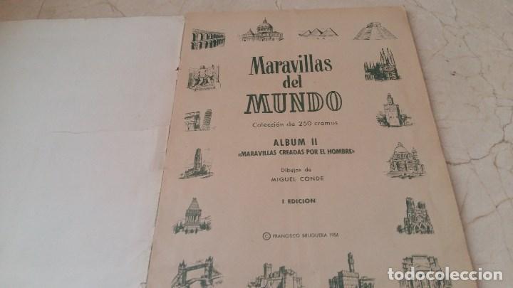 Coleccionismo Álbum: Album completo maravillas del mundo 1956 Bruguera - Foto 2 - 160779138