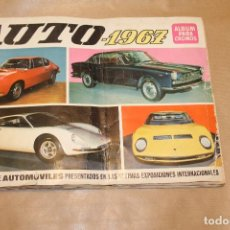 Coleccionismo Álbum: AUTO 1967, ALBUM COMPLETO, EDITORIAL BRUGUERA. Lote 160867934