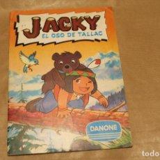 Coleccionismo Álbum: JACKY EL OSO DE TALLAC, ALBUM DE CROMOS COMPLETO, DE DANONE. Lote 160868134