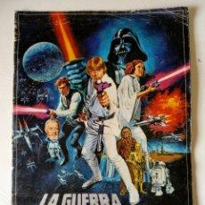 Coleccionismo Álbum: ALBUM COMPLETO CROMOS - LA GUERRA DE LAS GALAXIAS - AÑO 1977. Lote 161366705