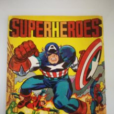 Coleccionismo Álbum: ALBUM SUPER HEROES SUPERHEROES COMPLETO EDITORIAL FHER. Lote 161663950