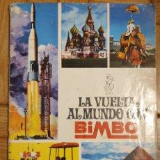Coleccionismo Álbum: LA VUELTA AL MUNDO CON BIMBO. Lote 161939561