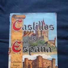 Coleccionismo Álbum: ALBUM CROMOS CASTILLOS DE ESPAÑA // COLECCION JOYA 144 CROMOS // COMPLETO. Lote 162092194