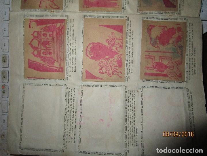 Coleccionismo Álbum: raro ANTIGUO ALBUM DE PIRATAS casi COMPLETO SANDOKAN EL TIGRE DE MALASIA cromos en un solo color - Foto 15 - 161587246