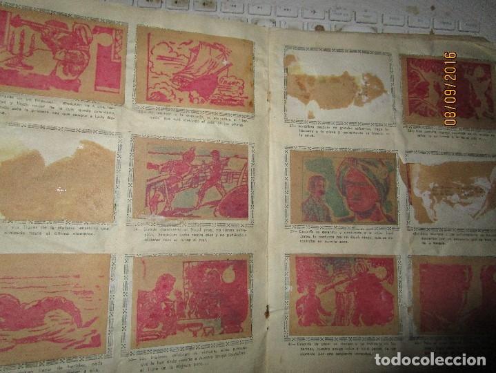 Coleccionismo Álbum: raro ANTIGUO ALBUM DE PIRATAS casi COMPLETO SANDOKAN EL TIGRE DE MALASIA cromos en un solo color - Foto 24 - 161587246