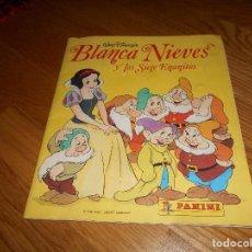 Coleccionismo Álbum: ALBUM 1987 BLANCANIEVES PANINI. COMPLETO 225 CROMOS. BLANCA NIEVES WALT DISNEY. Lote 162307802