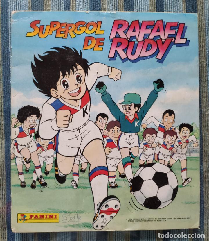 ALBUM DE CROMOS SUPERGOL DE RAFAEL RUDY (COMPLETO) (PANINI 1988) (Coleccionismo - Cromos y Álbumes - Álbumes Completos)