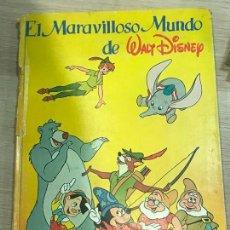 Sammeln Sammelalbum - ALBUM DE CROMOS EL MARAVILLOSO MUNDO DE WALT DISNEY 1985 COMPLETO 420 CROMOS - 162773574