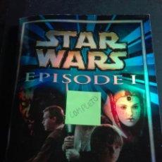 Coleccionismo Álbum: STARS WARS EPISODIO 1 COMPLETO. Lote 162779081