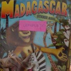 Coleccionismo Álbum: ÁLBUM MADAGASCAR STICKER ÁLBUM PANINI COMPLETO. Lote 162990901