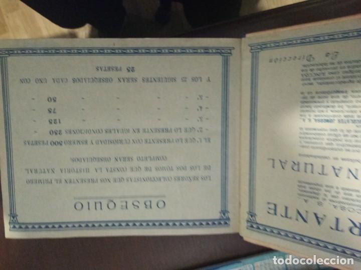 Coleccionismo Álbum: HISTORIA NATURAL CHOCOLATES JUNCOSA. COMPLETO - Foto 2 - 163060718