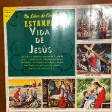 Coleccionismo Álbum: VIDA DE JESUS COMPLETO. Lote 163104042