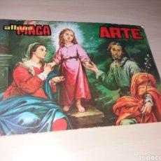 Coleccionismo Álbum: ÁLBUM MAGA ARTE - COMPLETO. Lote 163296956