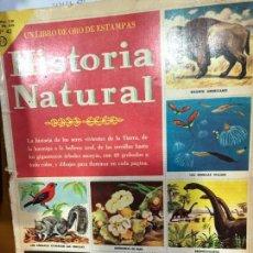 Coleccionismo Álbum: HISTORIA NATURAL COMPLETO. Lote 163359702