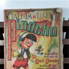 Coleccionismo Álbum: ALBUM DE CROMOS. PINOCHO. COMPLETO. EDIT. FHER. BILBAO. SIGLO XX.. Lote 163368154