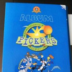Coleccionismo Álbum: ÁLBUM CROMOS PICKERS LOONEY TUNES MAGIC BOX INT. Lote 163623410