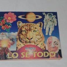 Coleccionismo Álbum: ALBUM LO SE TODO - EDITORIAL NAVARRETE 1997 - 100% COMPLETO. Lote 163782650