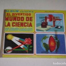 Coleccionismo Álbum: ALBUM LO SE TODO 5 - EL DIVERTIDO MUNDO DE LA CIENCIA - EDITORIAL NAVARRATE 1975 - 100% COMPLETO. Lote 163784726