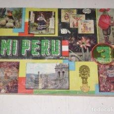Coleccionismo Álbum: ALBUM MI PERU 3 - EDITORIAL ALMEX 1967 - 100 % COMPLETO. Lote 163786486