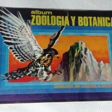 Coleccionismo Álbum: ALBUM ZOOLOGÍA Y BOTÁNICA - EDITORIAL UNIVERSO 1970 - 100% COMPLETO. Lote 163790546
