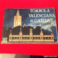 Coleccionismo Álbum: ÁLBUM COMPLETO 240 CROMOS TÓMBOLA VALENCIANA DE CARIDAD, VISTAS DE ITALIA, VER FOTOS.. Lote 164230870