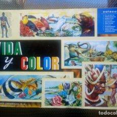 Coleccionismo Álbum: VIDA Y COLOR - ALBUMES ESPAÑOLES 1965 ( A-4). Lote 164239850