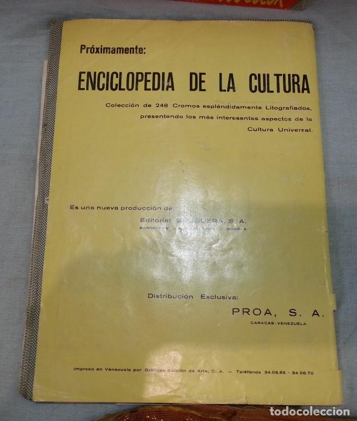 Coleccionismo Álbum: Album de cromos HISTORIA NATURAL. AÑOS 60- 70. COMPLETO. DOS UNIDADES - Foto 9 - 164487950