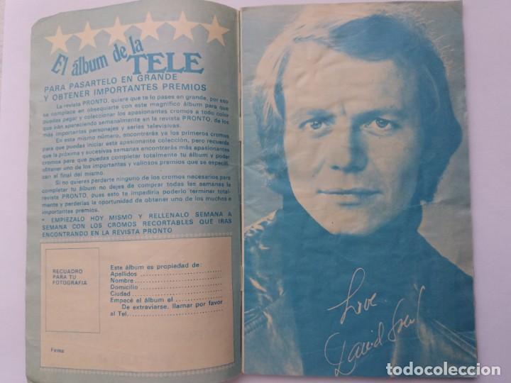 Coleccionismo Álbum: EL ÁLBUM DE LA TELE. REVISTA PRONTO. COMPLETO. 1978. - Foto 2 - 164576318