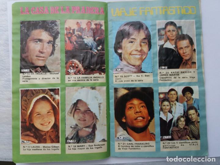 Coleccionismo Álbum: EL ÁLBUM DE LA TELE. REVISTA PRONTO. COMPLETO. 1978. - Foto 5 - 164576318