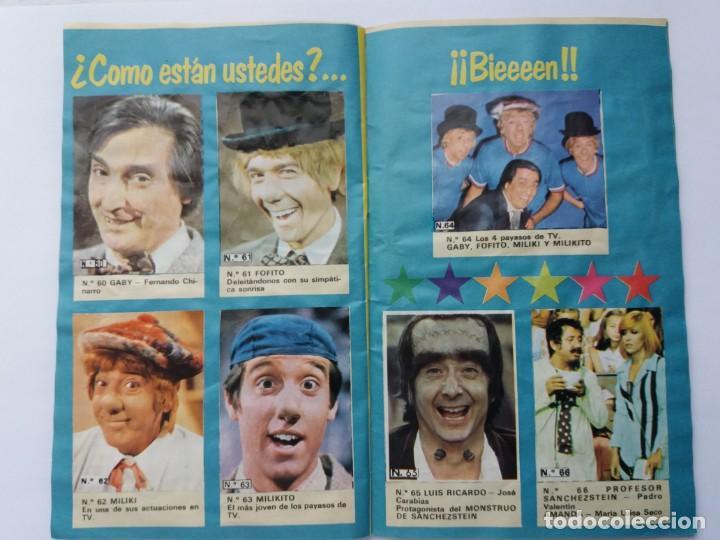 Coleccionismo Álbum: EL ÁLBUM DE LA TELE. REVISTA PRONTO. COMPLETO. 1978. - Foto 11 - 164576318