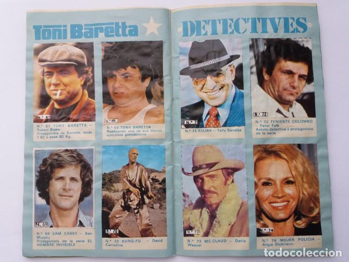 Coleccionismo Álbum: EL ÁLBUM DE LA TELE. REVISTA PRONTO. COMPLETO. 1978. - Foto 12 - 164576318