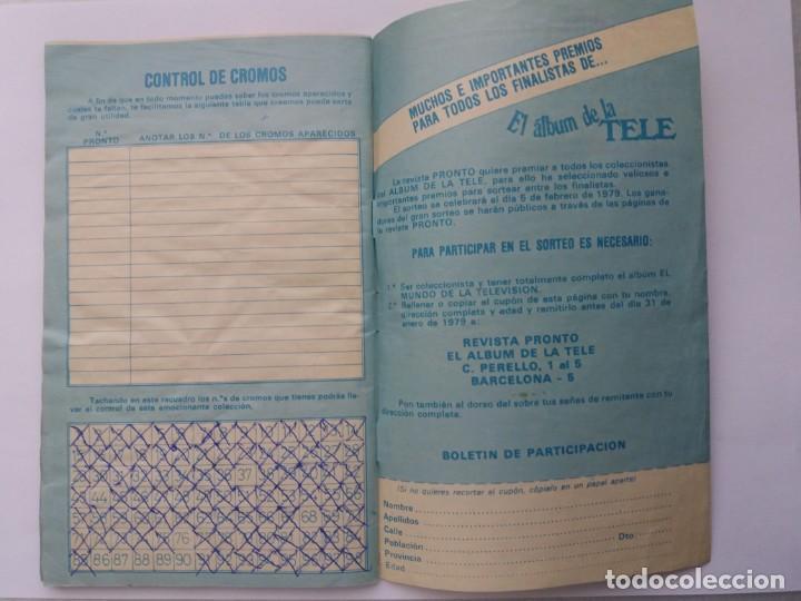Coleccionismo Álbum: EL ÁLBUM DE LA TELE. REVISTA PRONTO. COMPLETO. 1978. - Foto 16 - 164576318