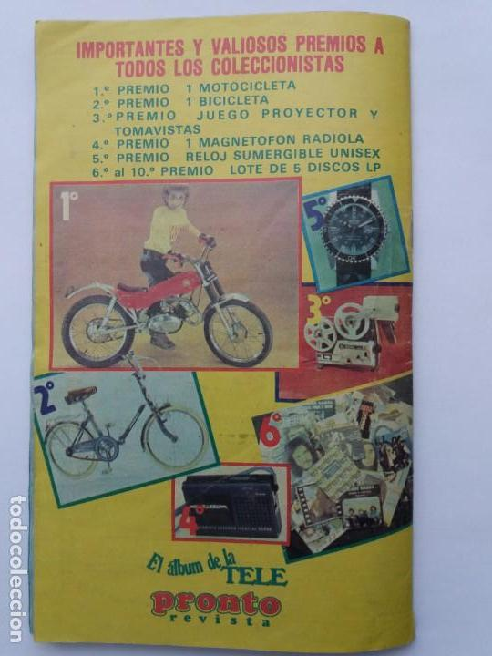 Coleccionismo Álbum: EL ÁLBUM DE LA TELE. REVISTA PRONTO. COMPLETO. 1978. - Foto 17 - 164576318