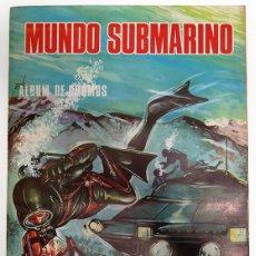Coleccionismo Álbum: ALBUM 1973 MUNDO SUBMARINO. COMPLETO. EDIT BALLGRAF. PECES, PECIOS, MAR.. Lote 164604874