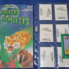 Coleccionismo Álbum: MUNDO ECOLÓGICO - EDITORIAL CROMO CULTURA (1980) ¡COLECCIÓN COMPLETA SIN PEGAR!. Lote 164606226