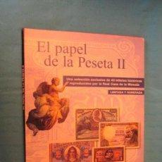 Coleccionismo Álbum: EL PAPEL DE LA PESETA II BILLETES. Lote 164832646