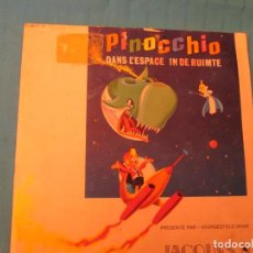 Coleccionismo Álbum: PINOCCHIO DANS L´ESPACE IN DE RUIMTE CHOCOLATES JACQUES. Lote 164952370