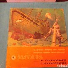 Coleccionismo Álbum: LA GRANDE ENIGME DES OCEANS CHOCOLATES JACQU3S. Lote 164952686