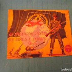 Coleccionismo Álbum: LES ARMEES ATLANTIQUES CHOCOLATE MEURISSE . Lote 164958430