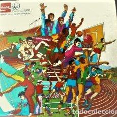 Coleccionismo Álbum: MONTREAL 1976 HISTORIA DE LOS JUEGOS OLÍMPICOS, COCA COLA. Lote 164959778