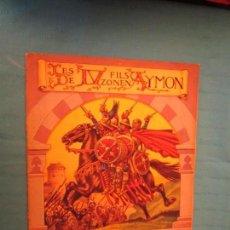 Coleccionismo Álbum: LES QUATRE FILS AYMON CHOCOLATE AIGLON. Lote 164956374