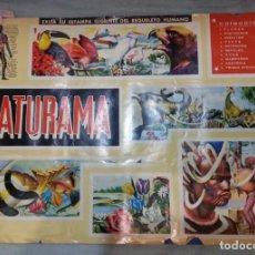 Coleccionismo Álbum: ALBUM DE CROMOS NATURAMA. AÑOS 60- 70. COMPLETO.. Lote 165057094