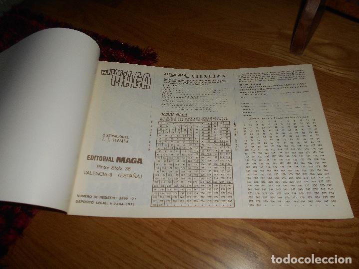Coleccionismo Álbum: Álbum Maga - Ciencias PLANCHA NUEVO SIN CROMOS Editorial Maga 1971 - Ver fotos en el interior - Foto 2 - 165093270