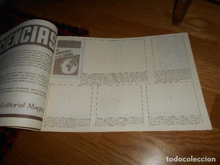 Coleccionismo Álbum: Álbum Maga - Ciencias PLANCHA NUEVO SIN CROMOS Editorial Maga 1971 - Ver fotos en el interior - Foto 3 - 165093270