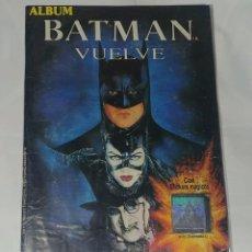 Coleccionismo Álbum: ALBUM BATMAN VUELVE - EDITORIAL NAVARRETE - 99.9% COMPLETO. Lote 165126198