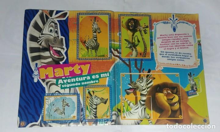 Coleccionismo Álbum: Album Madagascar 2 - Editorial Salo 2008 - 100% Completo - Foto 2 - 165126602
